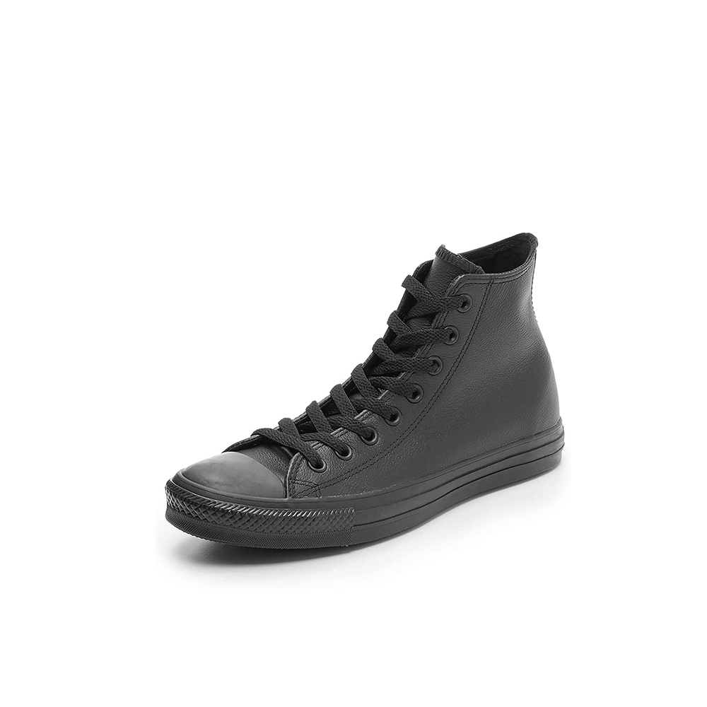 Converse Ctas Hi Leather Black1