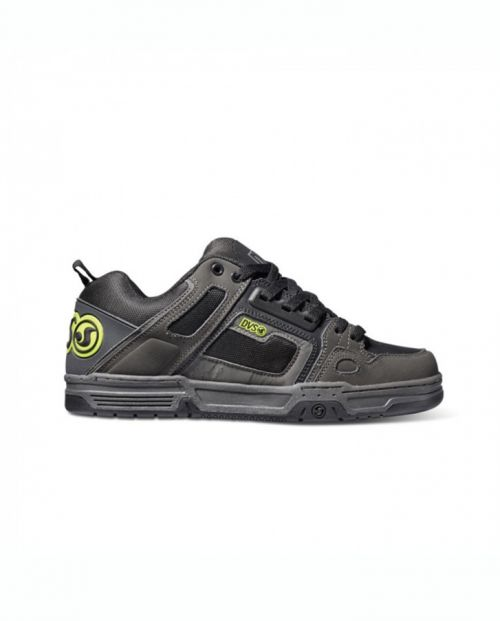 Scarpe DVS Comanche Grey Black Lime