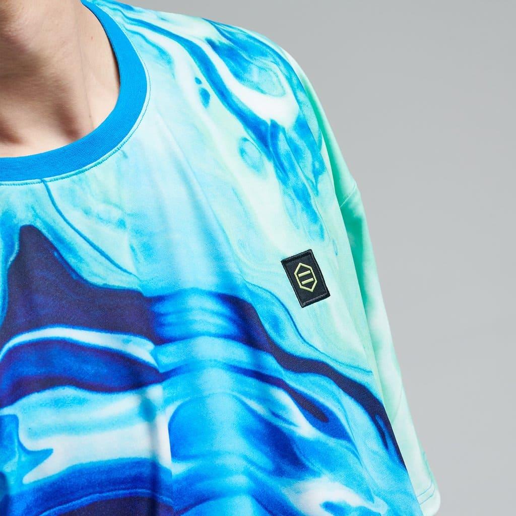 Dolly Noire T-Shirt Blaster Oversize - BLUE