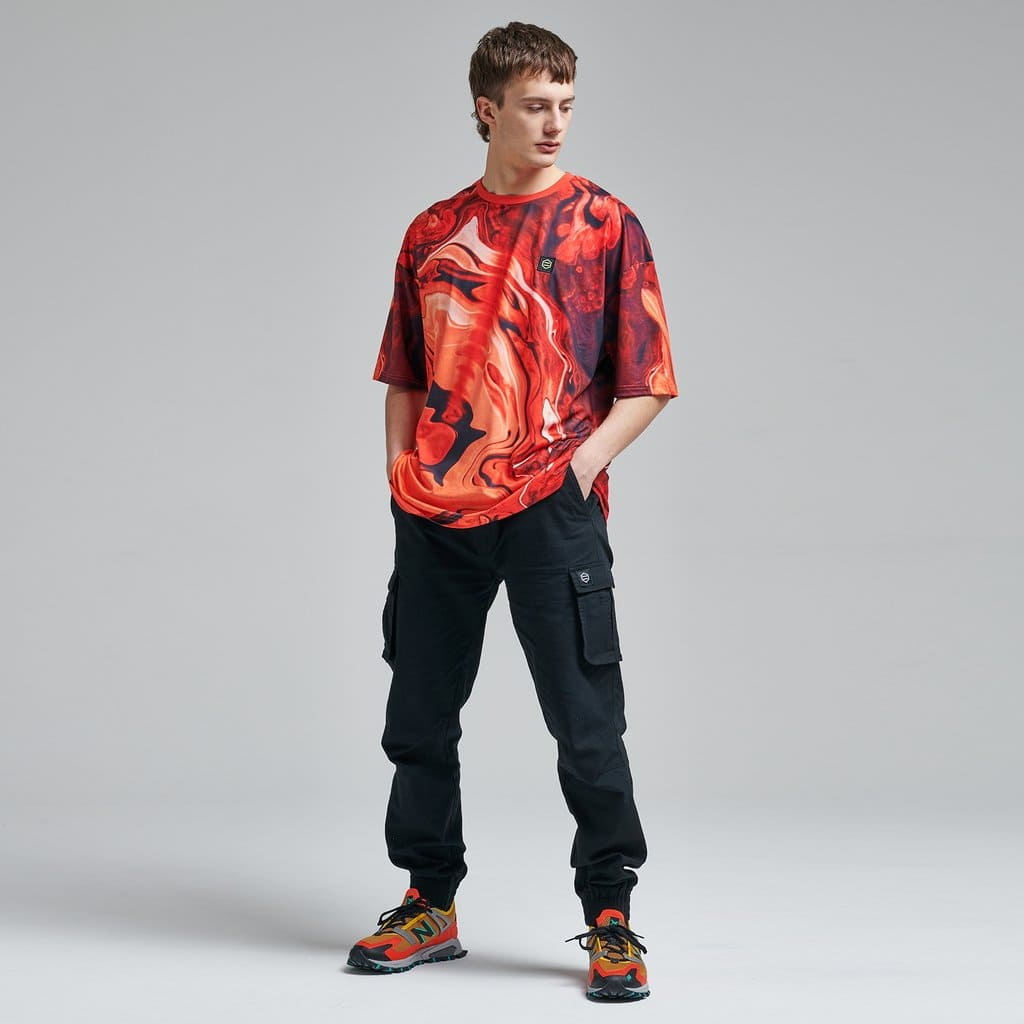 Dolly Noire T-Shirt Blaster Oversize - RED