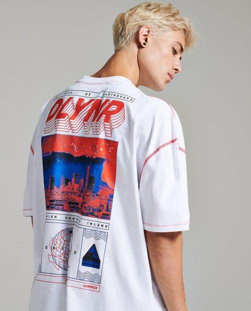 Dolly Noire T-Shirt Tzunami Oversize - WHT 1
