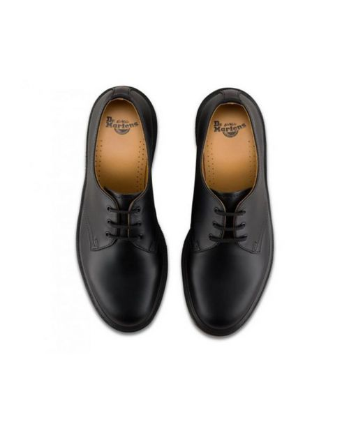 Scarpe Basse Dr. Martens 1461 PW Smooth Black