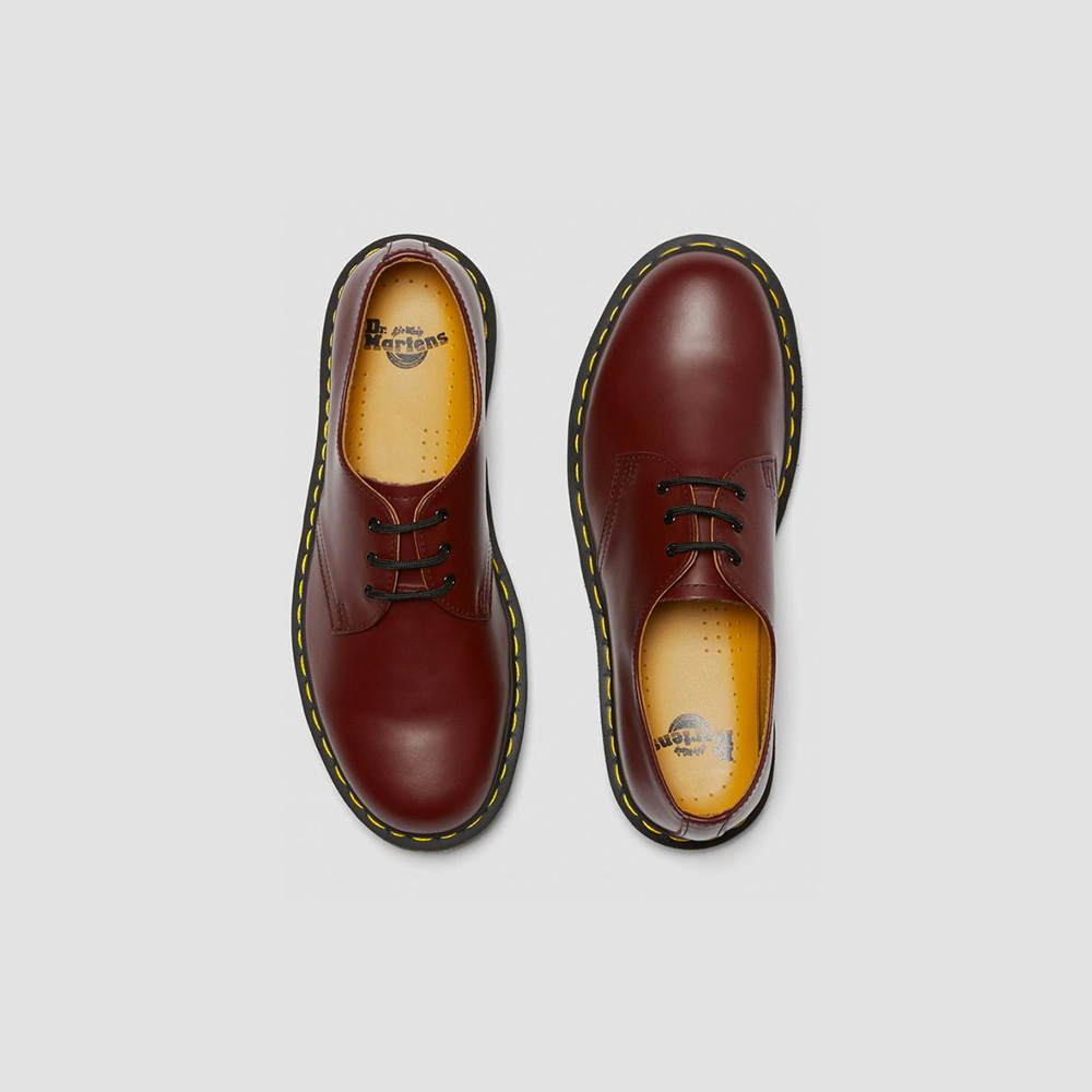 Dr. Martens 1461 PW (Smooth) - CHERRY RED ROUGE