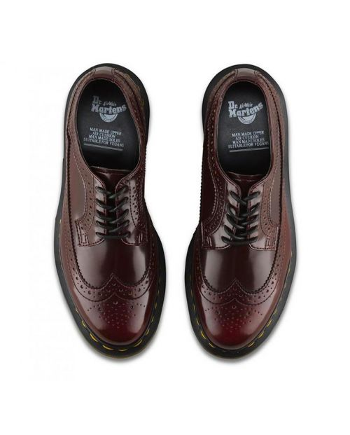 Dr. Martens 3989 (Cambridge Brush) - CHERRY RED
