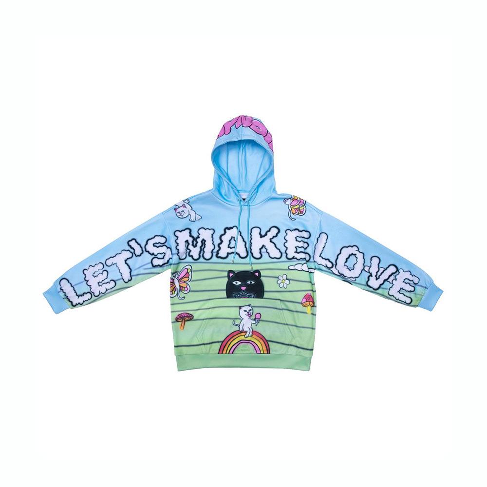 Felpa Ripndip Lets Make Love Hoodie Multi