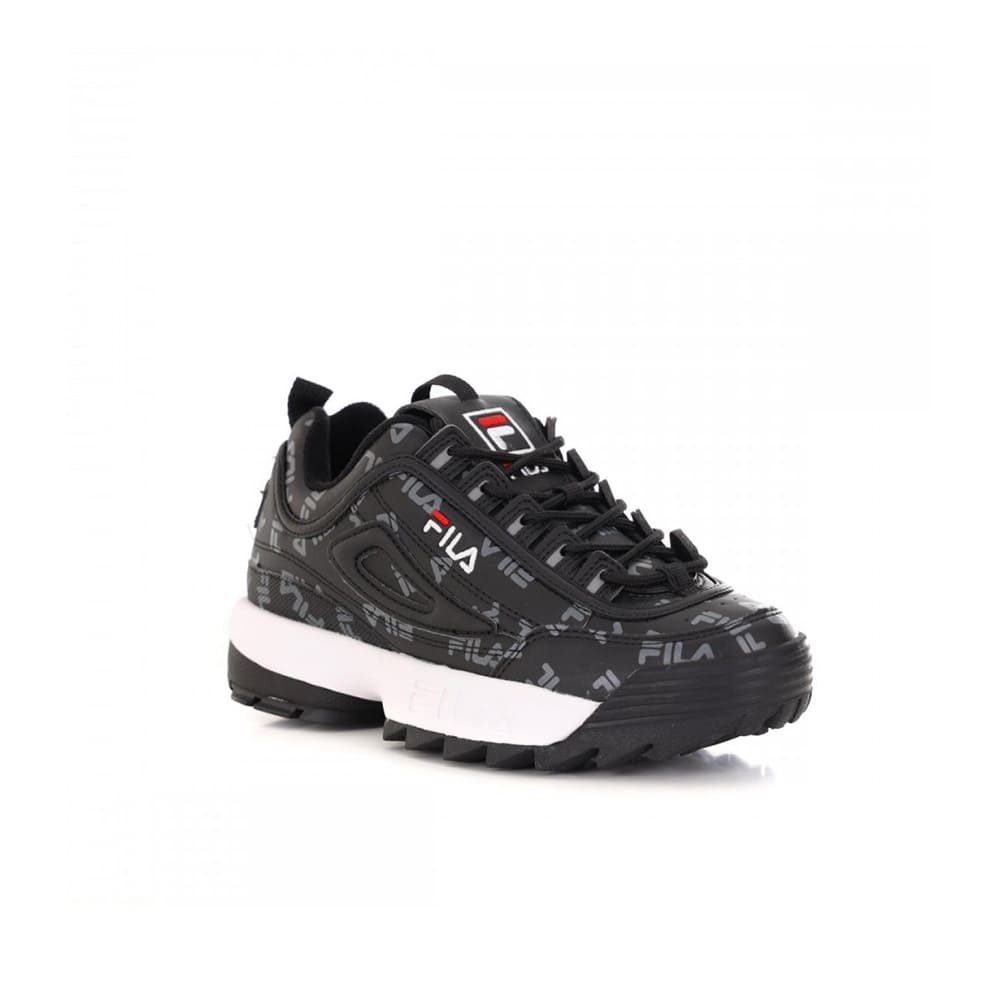 Fila Disruptor Logo Low Woman, BLACK (scritte)