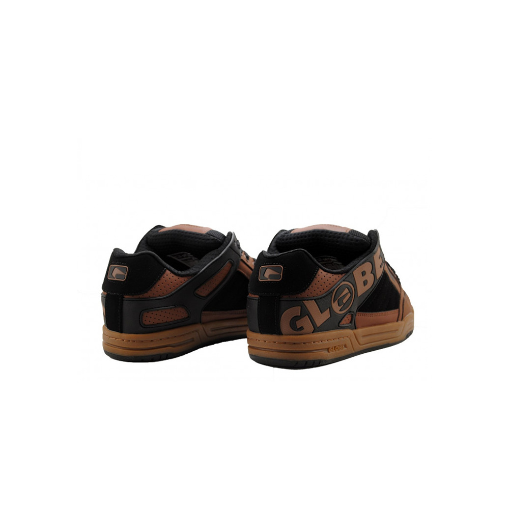 Globe Scarpe Tilt DARK BROWN:BLK:TOBACCO
