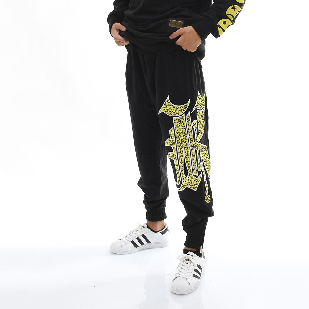 Kali King Pantalone Tuta Black SMILE K