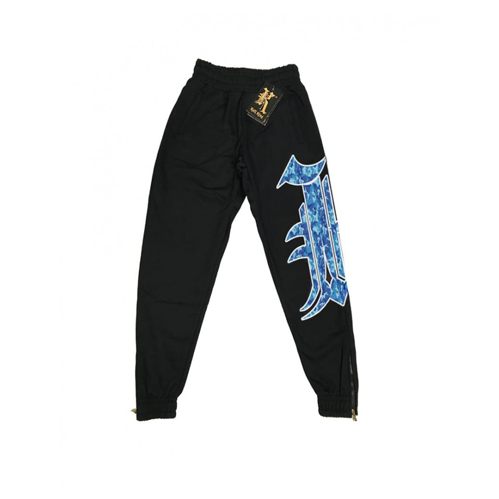 Kali King Pantaloni Tuta Black BLUE K