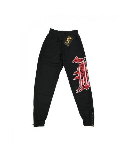 Kali King Pantaloni Tuta Black RED K
