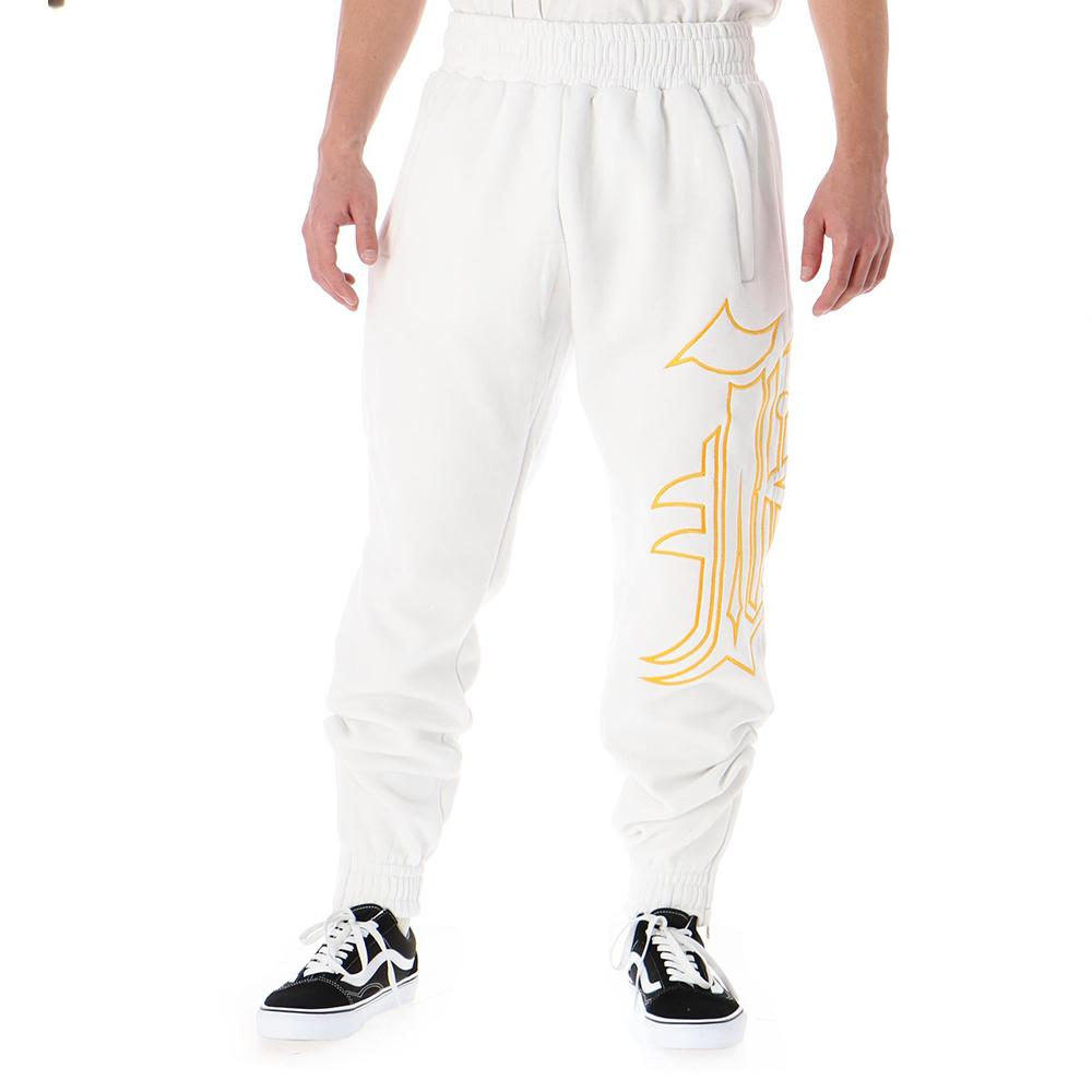 Kali King Pantaloni Tuta White BLING