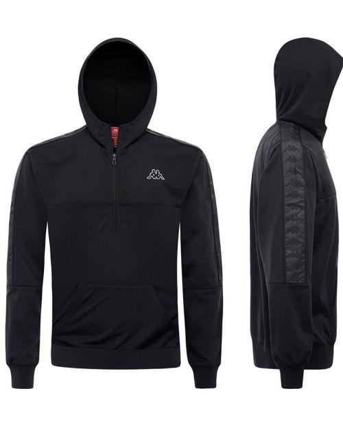 Kappa Felpa 222 Sweatshirt BLACK