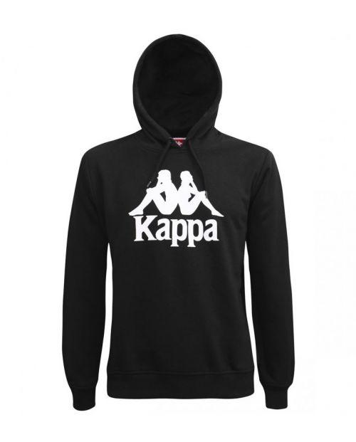 Felpa Kappa Authentic Esmio - BLK/WHT