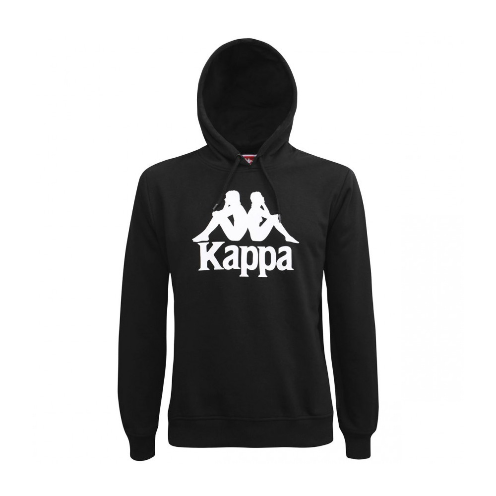 Kappa Felpa Authentic Esmio - BLK/WHT