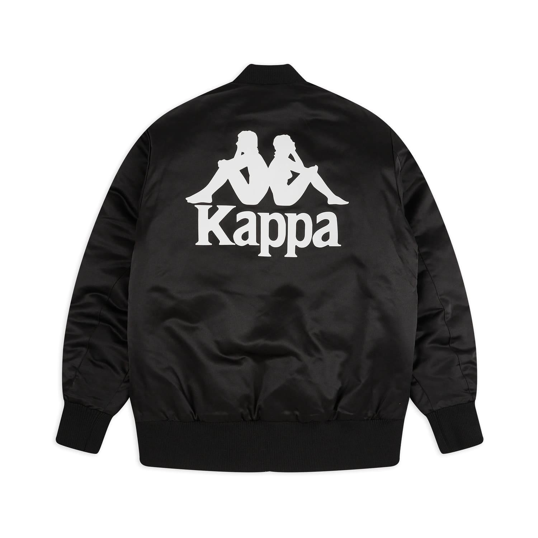 Kappa Giacca 222 Banda Bawer - BLK:WHT 1