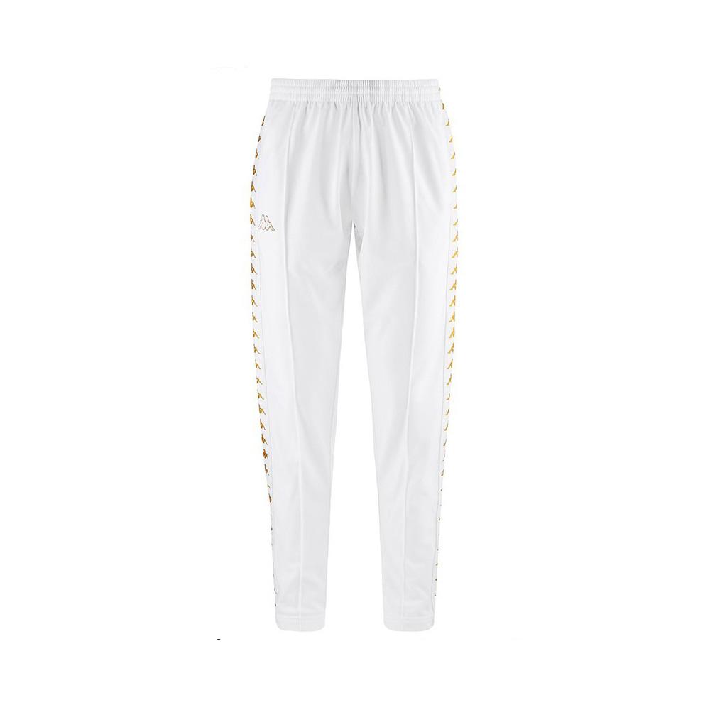 Pantaloni Kappa 222 Banda Astoria Snaps Slim - WHT/GOLD