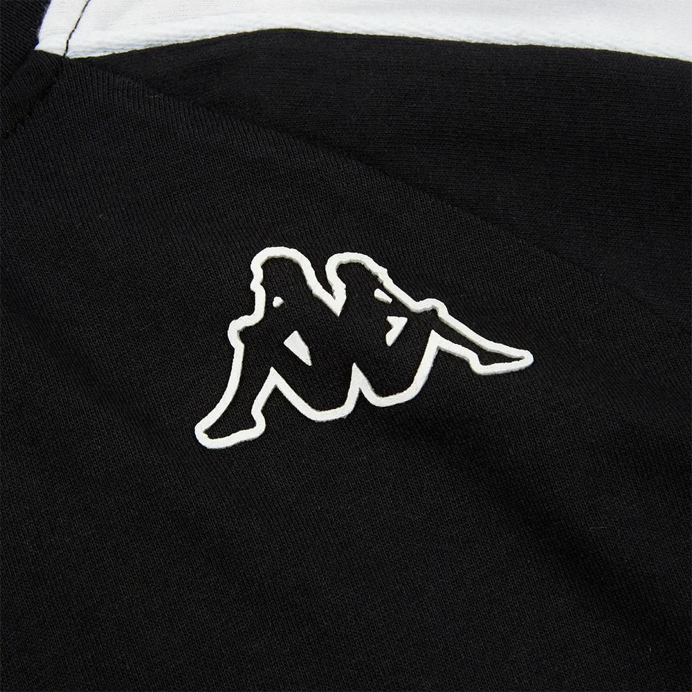 Kappa T-Shirt 222 Banda 10 Arset - BLK/WHT
