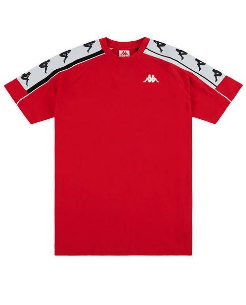 T-Shirt Kappa 222 Banda 10 Arset - RED/BLK/WHT