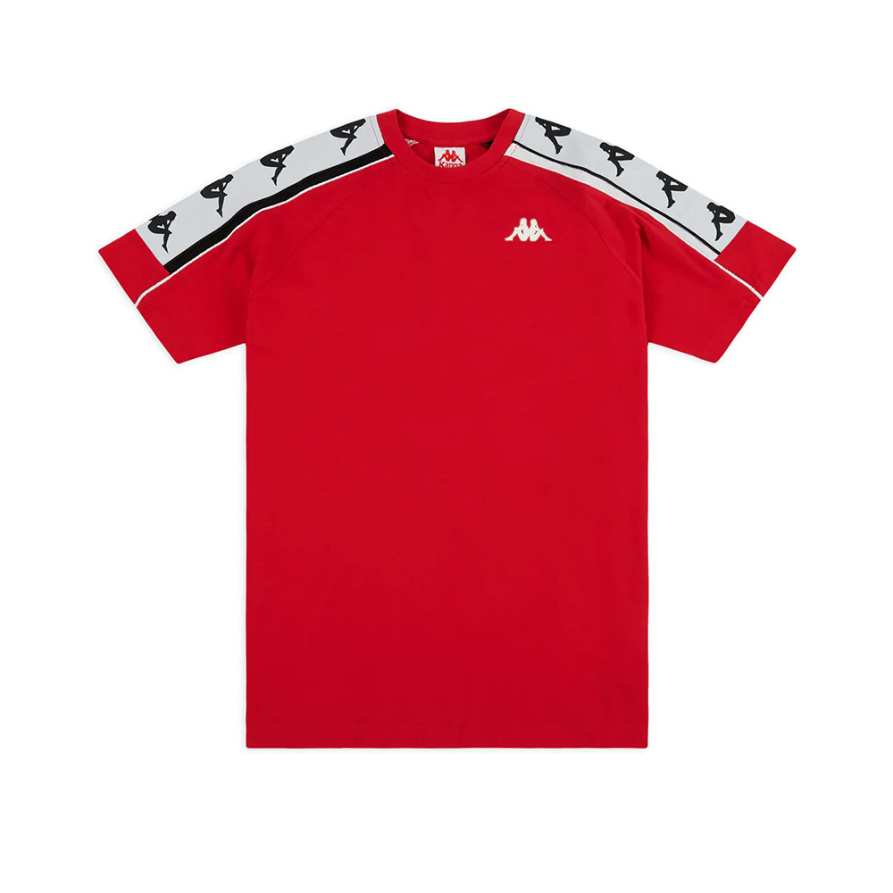 Kappa T-Shirt 222 Banda 10 Arset – RED:BLK:WHT
