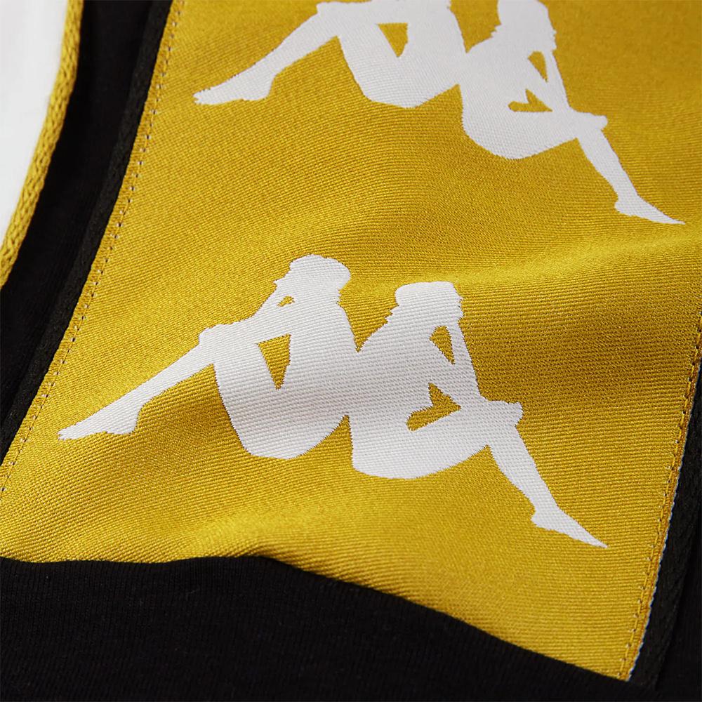 Kappa T-Shirt 222 Banda 10 Arset - WHT/ YELLOW GOLD