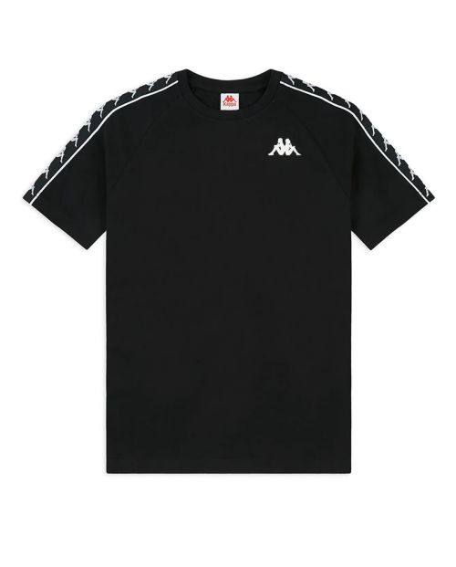 T-Shirt Kappa 222 Banda Coen Slim Nera
