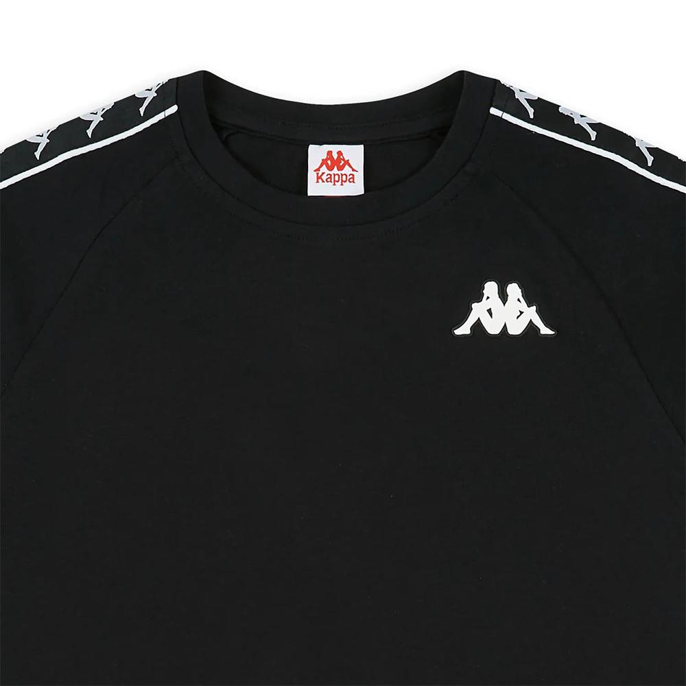 Kappa T-Shirt 222 Banda Coen Slim - BLK/WHT