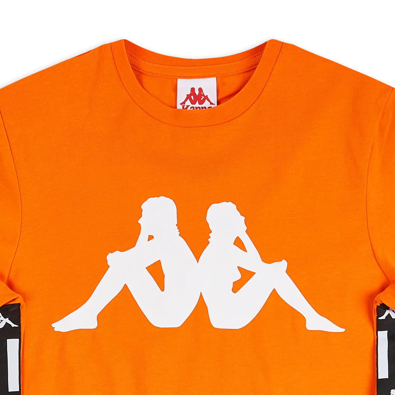 Kappa T-Shirt Authentic LA Barwa 2- ORANGE:WHT:BLK