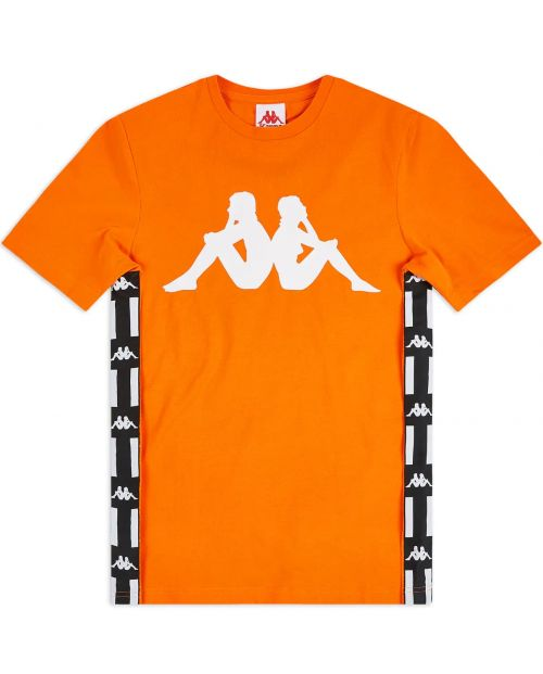 Kappa T-Shirt Authentic LA Barwa 2- ORANGE:WHT:BLK