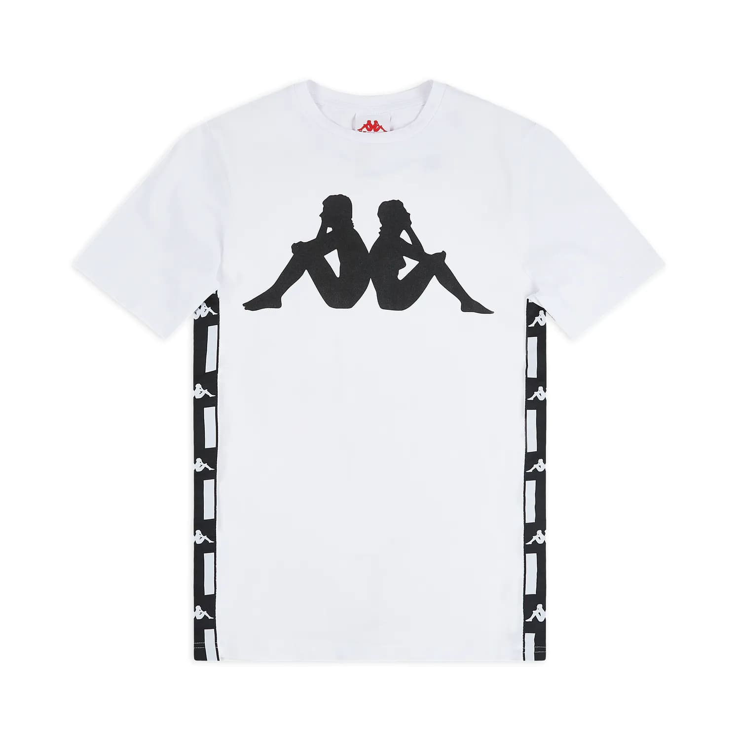 Kappa T-Shirt Authentic LA Barwa 2 - WHT:BLK