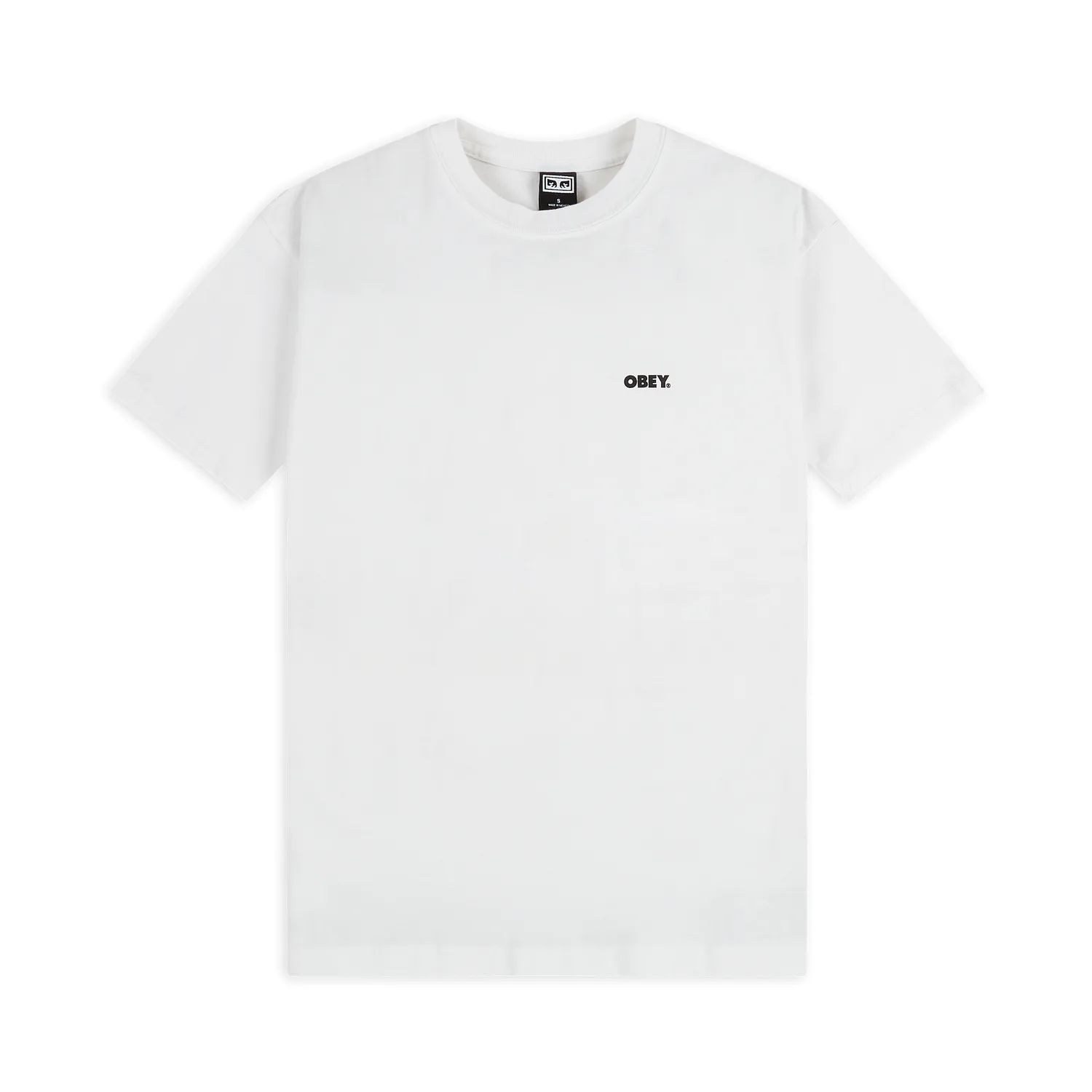 Obey T-Shirt Bold Classic White 1