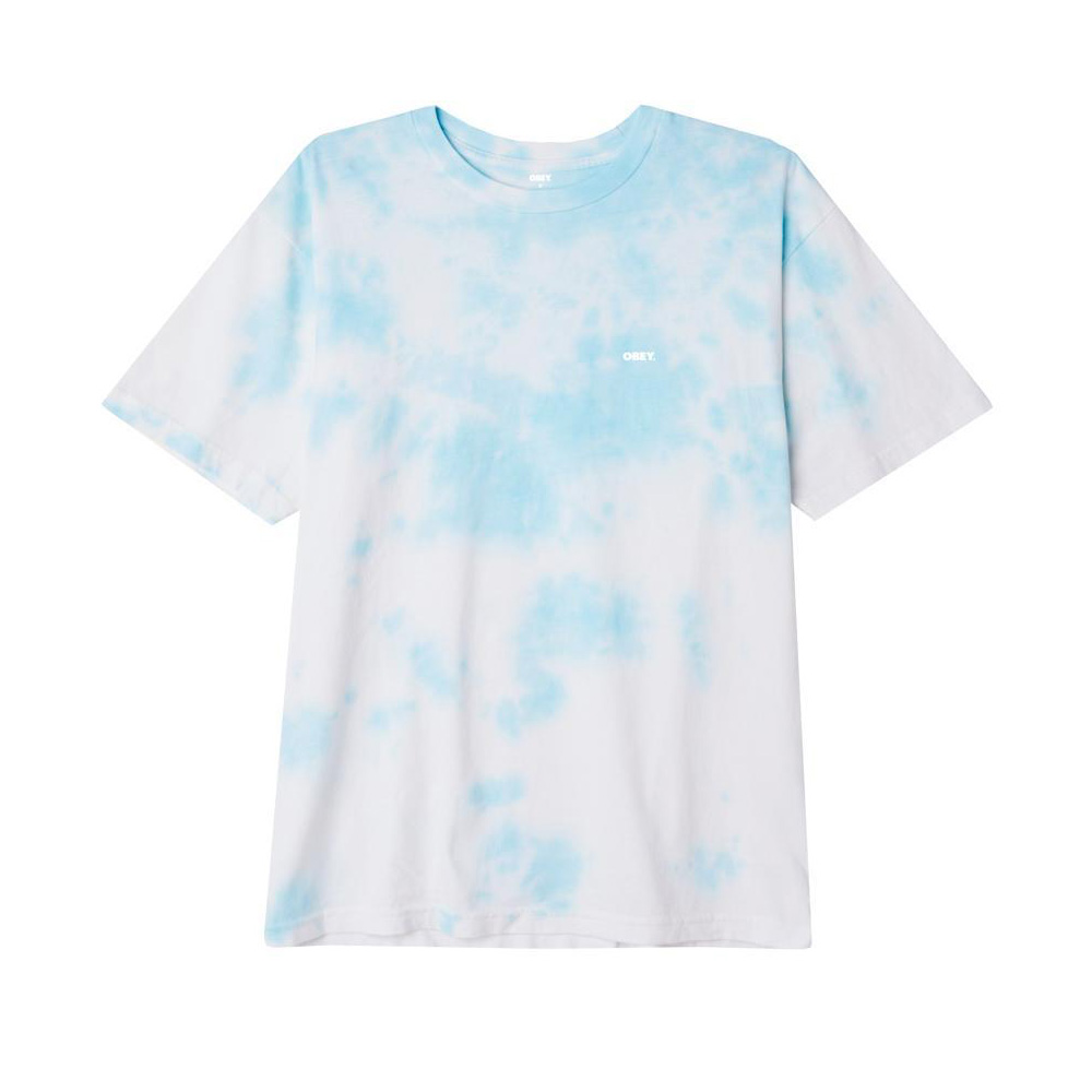 Obey T-Shirt Bold Organic Soft Cloudy Tranquility Blue