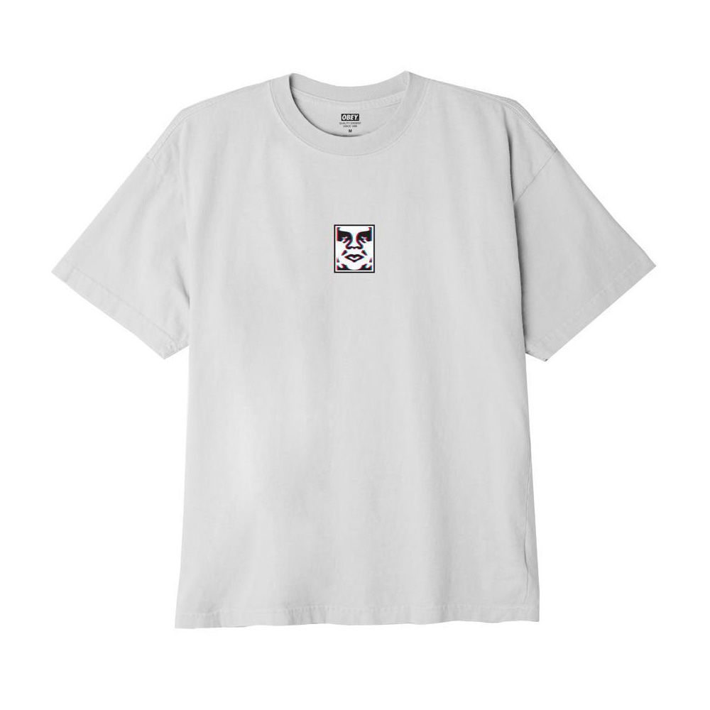 Obey T-Shirt Double Vision Classic White