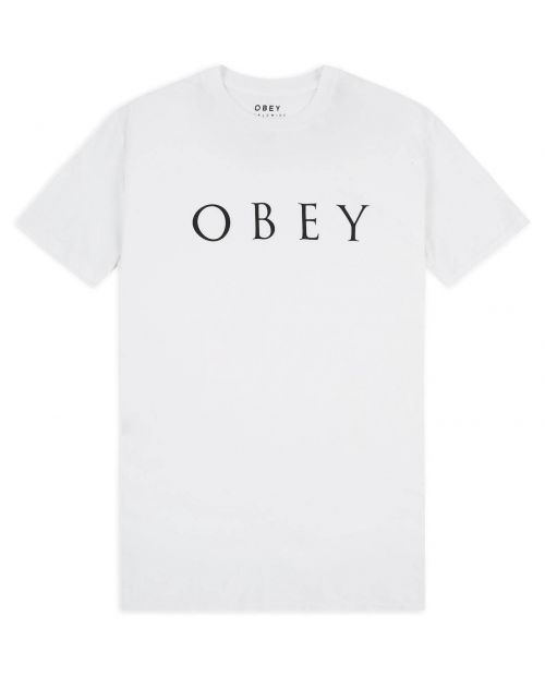 Obey T-Shirt Novel White