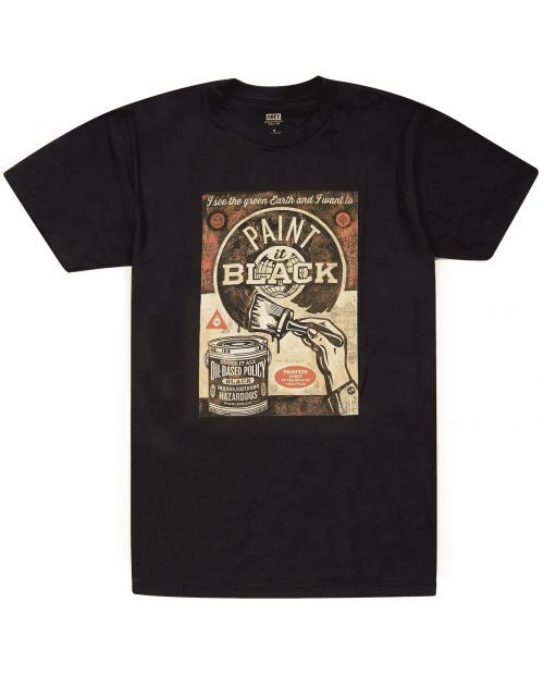 Obey T-Shirt Paint It Black