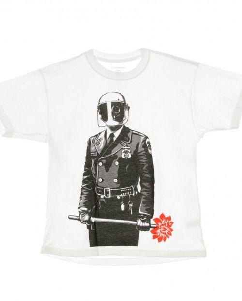 Obey T-Shirt Sadistic Floristwhite