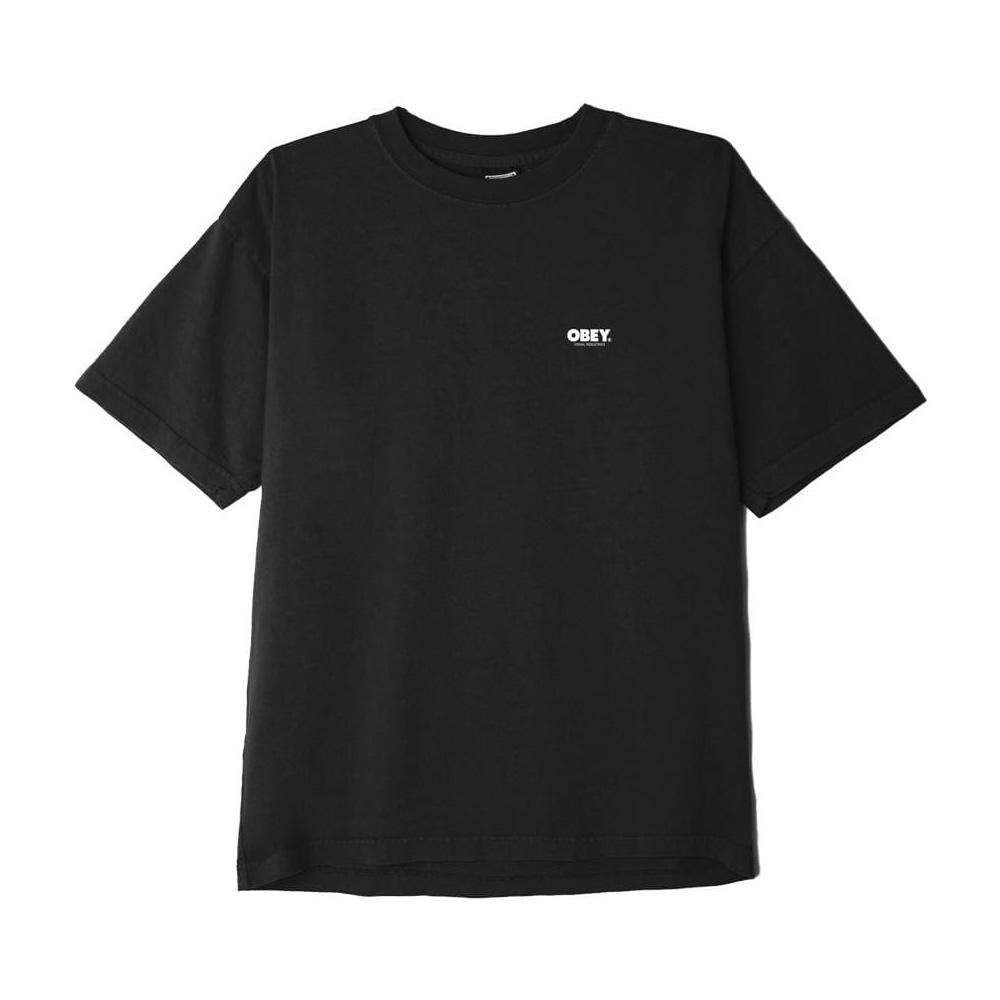 Obey T-Shirt Visual Industries Classic Black