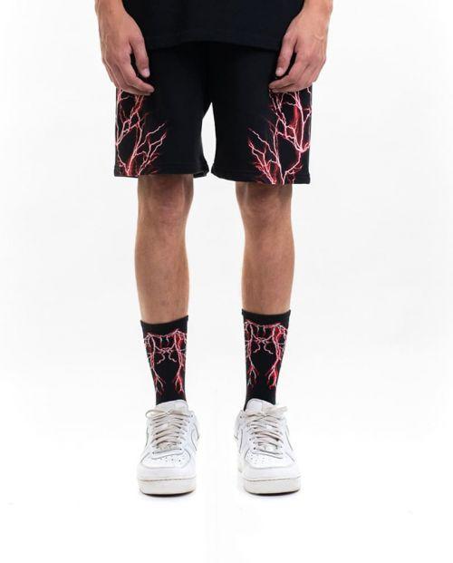 Phobia Pantaloni Corti Black RedLightning
