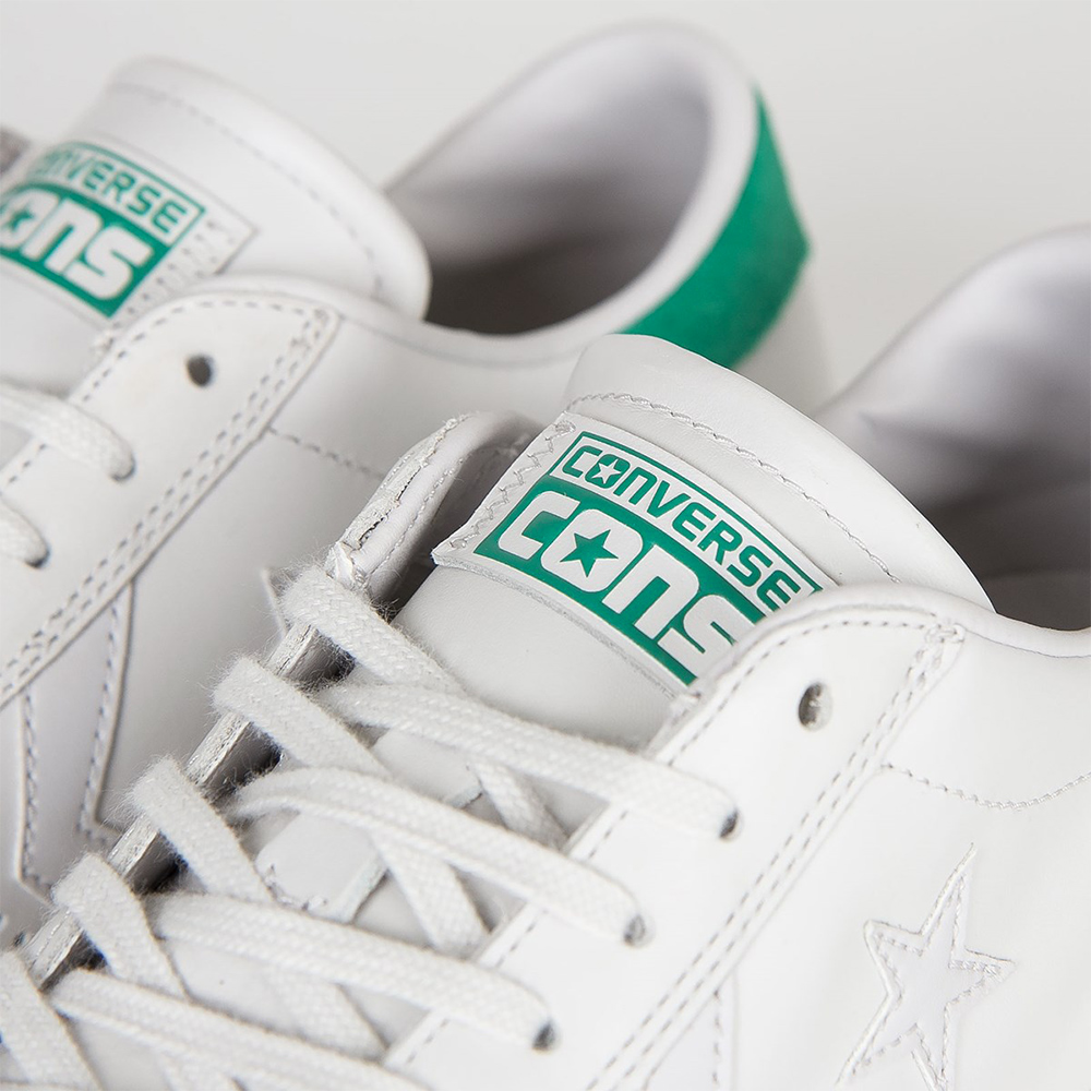 Pro Leather LP OX White DustyB retro verde3