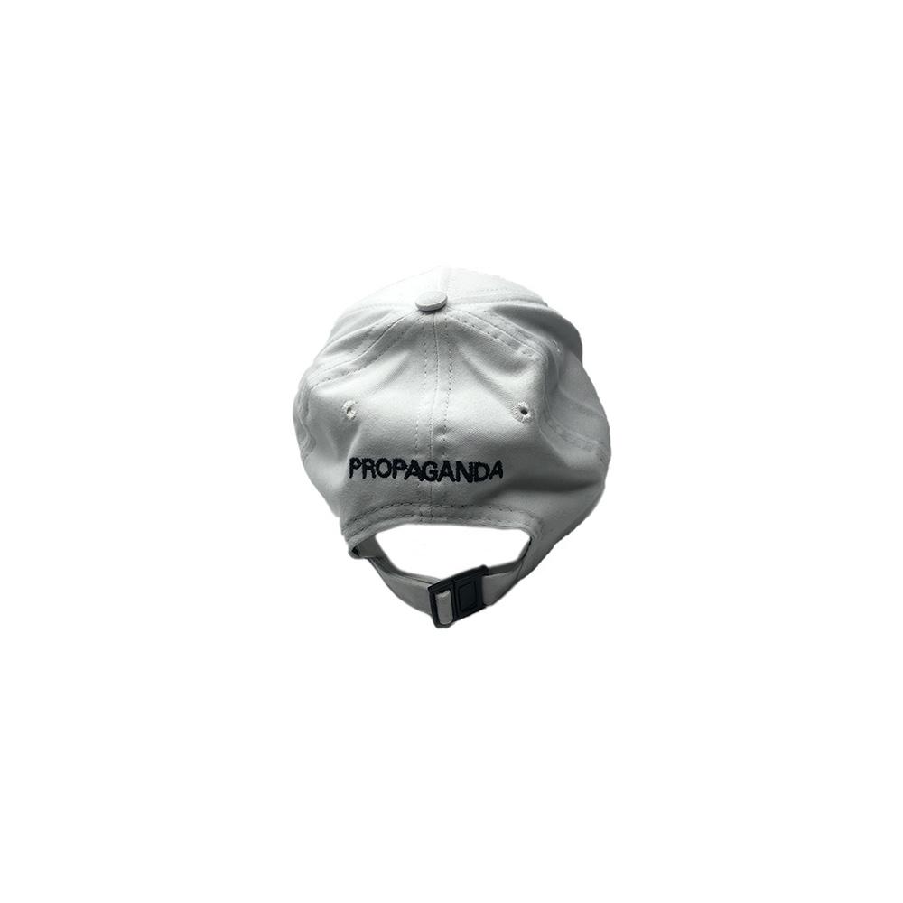 Propaganda Cappello Logo SnapBack Bianco