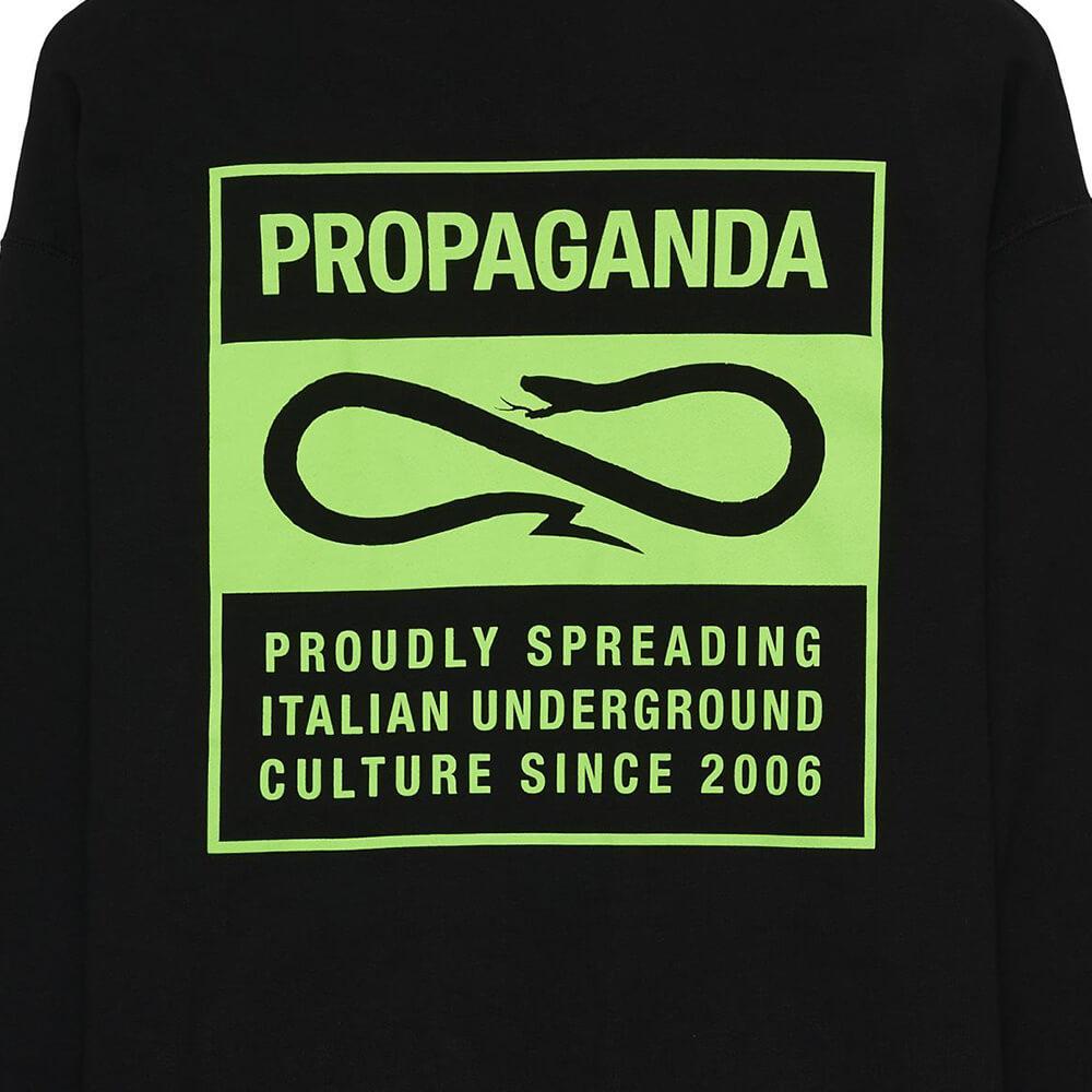 Propaganda Felpa Blank Nero