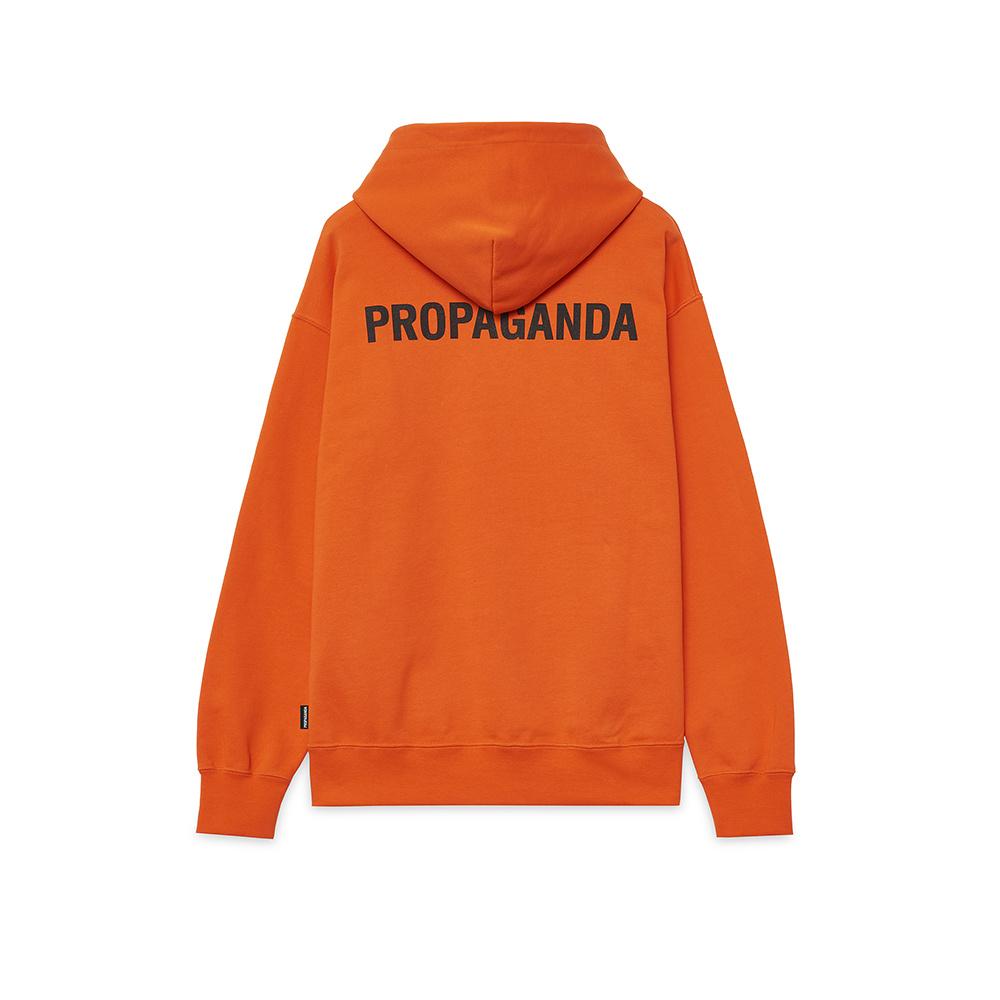Propaganda Felpa Logo Arancione