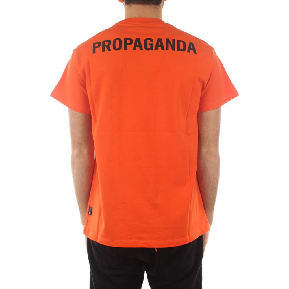 Propaganda T-Shirt Logo Arancione