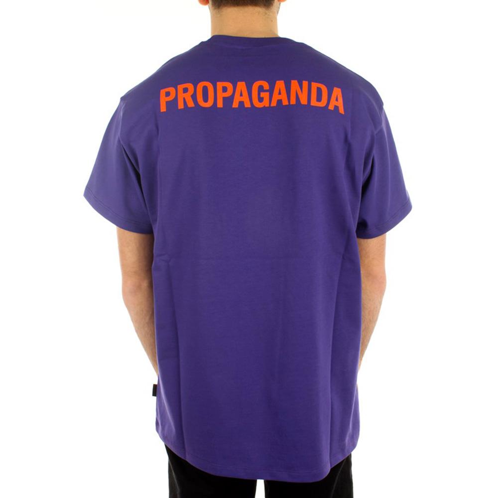Propaganda T-Shirt Logo Viola