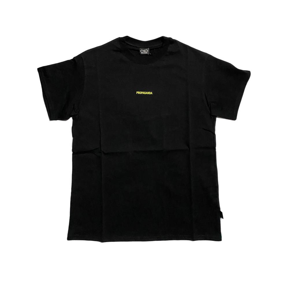 Propaganda T-Shirt Ribs Nero