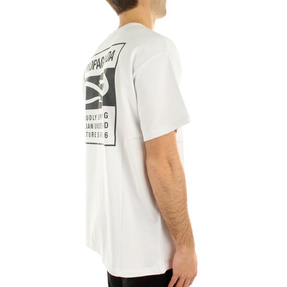 Propaganda T Shirt V Bianco 3