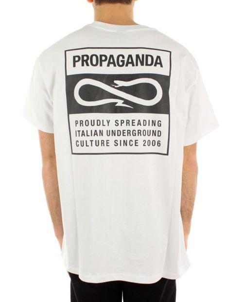 Propaganda T-Shirt V Bianco