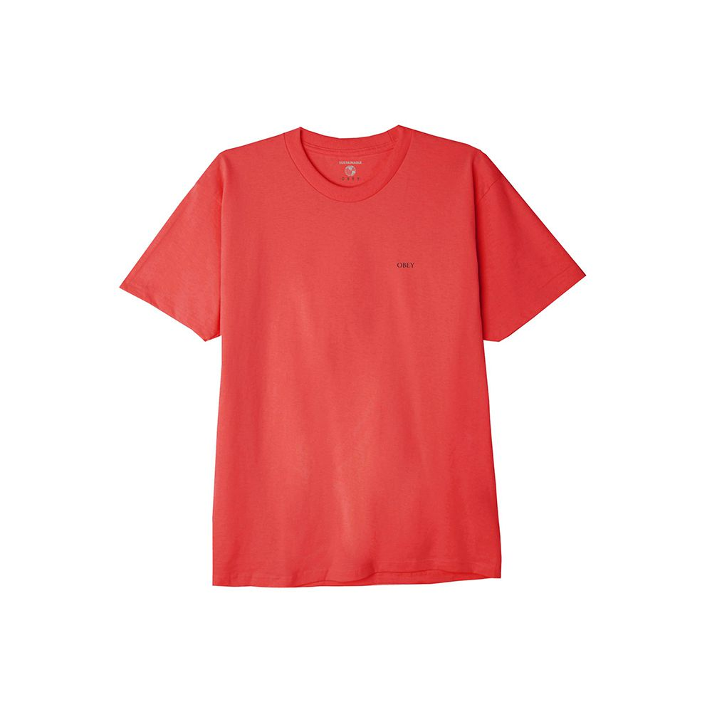 T-Shirt Obey Fire Sale! Sustainable Red