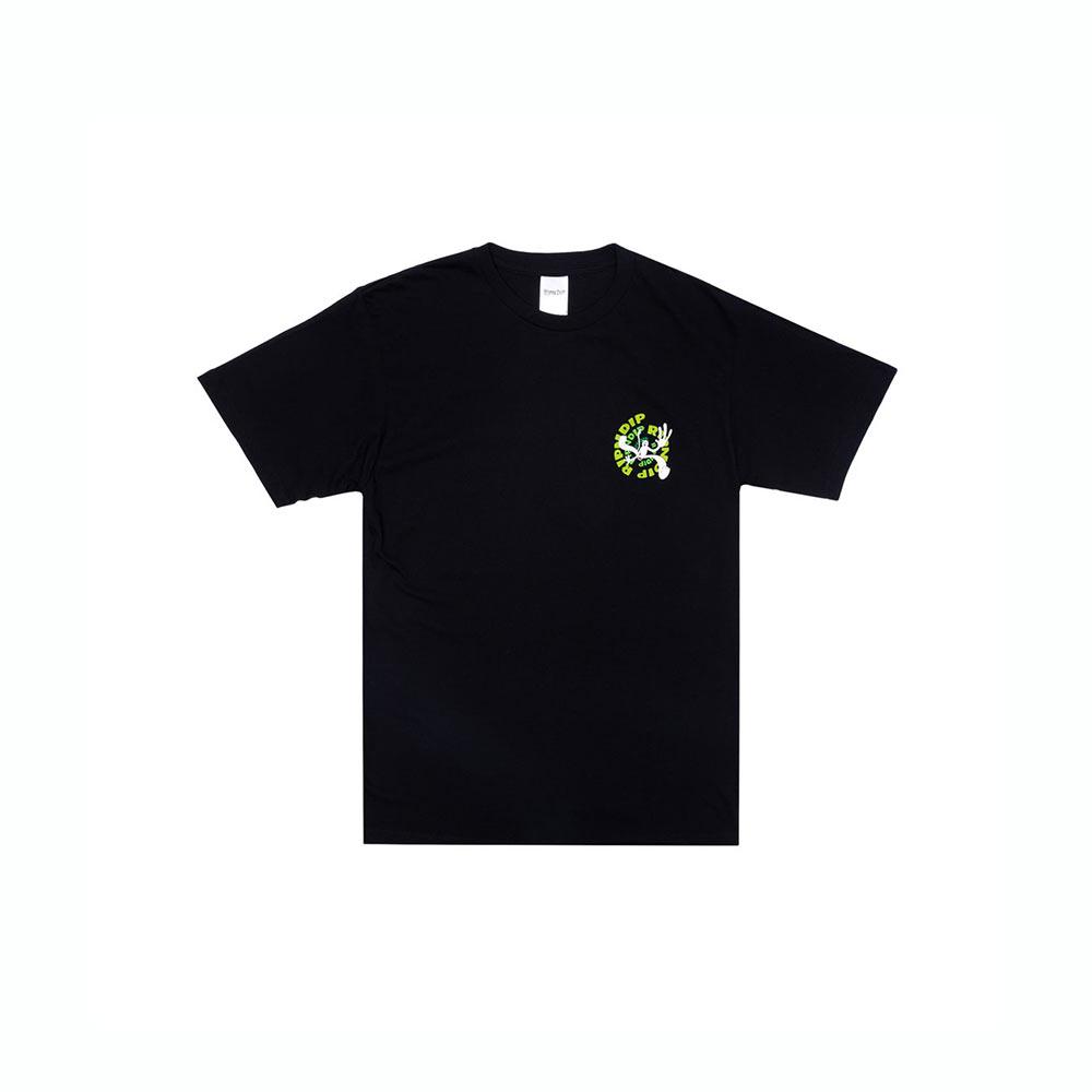 T-Shirt Ripndip Descending Tee Black