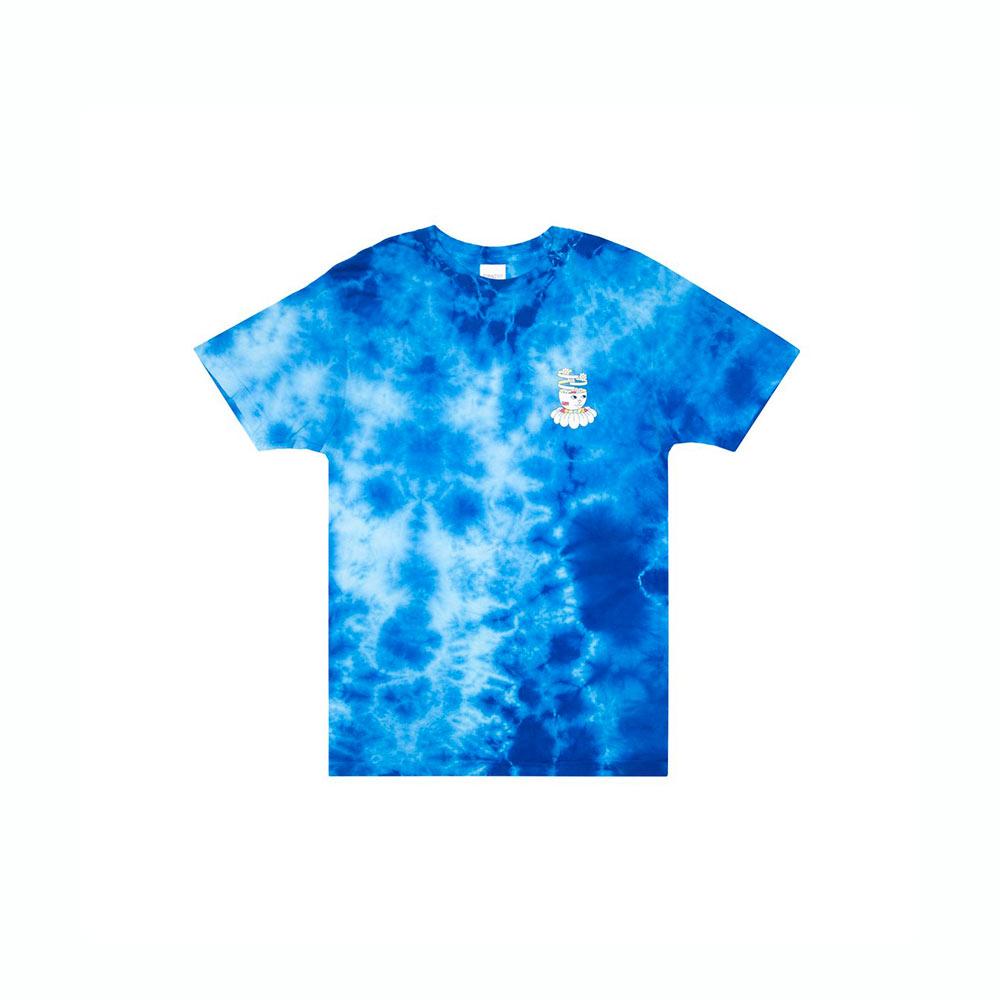 T-Shirt Ripndip Imagine Blue Lightning Wash