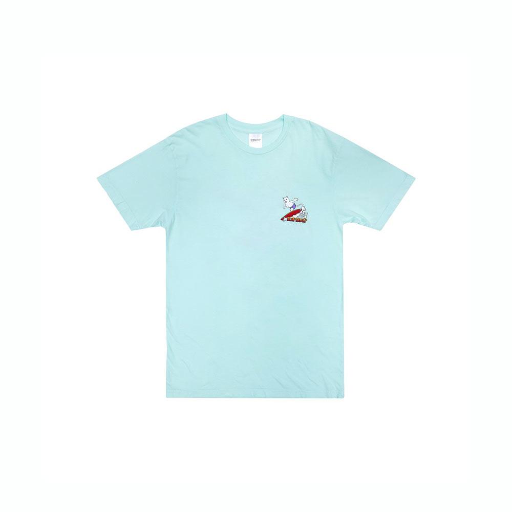 T-Shirt Ripndip Off My Wave Tee Aqua